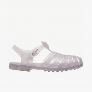 <img class='new_mark_img1' src='https://img.shop-pro.jp/img/new/icons14.gif' style='border:none;display:inline;margin:0px;padding:0px;width:auto;' />Méduse「Childrens Sandals SUN (Argent Paillete)」