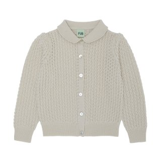 <img class='new_mark_img1' src='https://img.shop-pro.jp/img/new/icons14.gif' style='border:none;display:inline;margin:0px;padding:0px;width:auto;' />FUB「Pointelle Cardigan (Ecru)」2021-AW