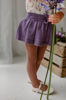 <img class='new_mark_img1' src='https://img.shop-pro.jp/img/new/icons14.gif' style='border:none;display:inline;margin:0px;padding:0px;width:auto;' />HAPPYOLOGY「Roseleigh Bloomer Skirt (Purple Twilight)」2021-AW