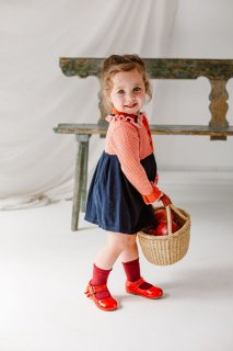 <img class='new_mark_img1' src='https://img.shop-pro.jp/img/new/icons14.gif' style='border:none;display:inline;margin:0px;padding:0px;width:auto;' />HAPPYOLOGY「Amberley Knitted Dress (Royal Navy)」2021-AW