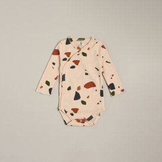 <img class='new_mark_img1' src='https://img.shop-pro.jp/img/new/icons14.gif' style='border:none;display:inline;margin:0px;padding:0px;width:auto;' />organic zoo「Terazzo Wrap Over Bodysuit」