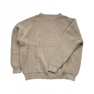 <img class='new_mark_img1' src='https://img.shop-pro.jp/img/new/icons14.gif' style='border:none;display:inline;margin:0px;padding:0px;width:auto;' />HUNTER+ROSE「Adult Oak Flecked Aspen Chunky Jumper」2021-AW