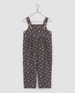 <img class='new_mark_img1' src='https://img.shop-pro.jp/img/new/icons14.gif' style='border:none;display:inline;margin:0px;padding:0px;width:auto;' />Little Cotton Clothes「Margo Dungarees - winter blue floral」2021-AW