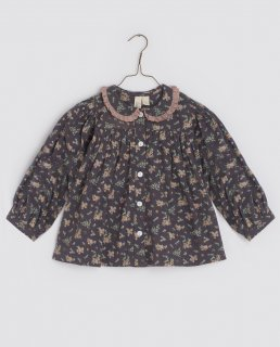 <img class='new_mark_img1' src='https://img.shop-pro.jp/img/new/icons14.gif' style='border:none;display:inline;margin:0px;padding:0px;width:auto;' />Little Cotton Clothes「Eleanor Blouse - winter blue floral」2021-AW