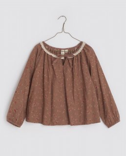<img class='new_mark_img1' src='https://img.shop-pro.jp/img/new/icons14.gif' style='border:none;display:inline;margin:0px;padding:0px;width:auto;' />Little Cotton Clothes「Olive Blouse - rose floral in oak」2021-AW