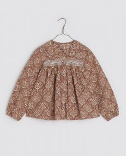 <img class='new_mark_img1' src='https://img.shop-pro.jp/img/new/icons14.gif' style='border:none;display:inline;margin:0px;padding:0px;width:auto;' />Little Cotton Clothes「Nina Blouse - wallflower」2021-AW