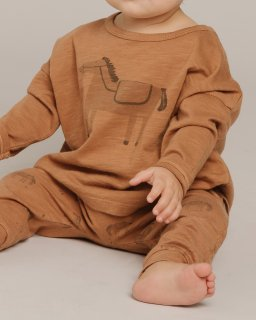 <img class='new_mark_img1' src='https://img.shop-pro.jp/img/new/icons14.gif' style='border:none;display:inline;margin:0px;padding:0px;width:auto;' />Rylee and Cru「longsleeve tee horse」2021-AW Drop1