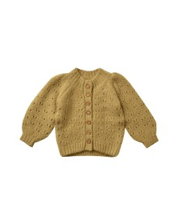 <img class='new_mark_img1' src='https://img.shop-pro.jp/img/new/icons14.gif' style='border:none;display:inline;margin:0px;padding:0px;width:auto;' />Rylee and Cru「tulip cardigan gold」2021-AW Drop1