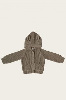 <img class='new_mark_img1' src='https://img.shop-pro.jp/img/new/icons14.gif' style='border:none;display:inline;margin:0px;padding:0px;width:auto;' />Jamie Kay「Bear Cardigan - Clover Marle」Camille Collection