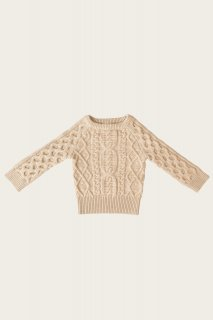 <img class='new_mark_img1' src='https://img.shop-pro.jp/img/new/icons14.gif' style='border:none;display:inline;margin:0px;padding:0px;width:auto;' />Jamie Kay「Cable Knit - Pepper Marle」Camille Collection