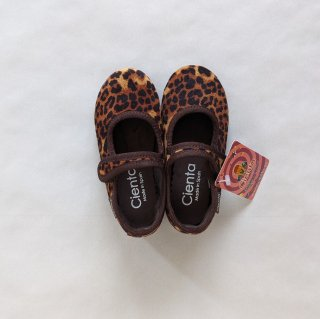 <img class='new_mark_img1' src='https://img.shop-pro.jp/img/new/icons14.gif' style='border:none;display:inline;margin:0px;padding:0px;width:auto;' />Cienta「Formal Strap Shoes (Brown/Leopard/Velour)」