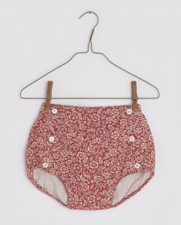 <img class='new_mark_img1' src='https://img.shop-pro.jp/img/new/icons14.gif' style='border:none;display:inline;margin:0px;padding:0px;width:auto;' />Little Cotton Clothes「Folkestone Bloomers - paisley floral rouge」2021-AW Drop2