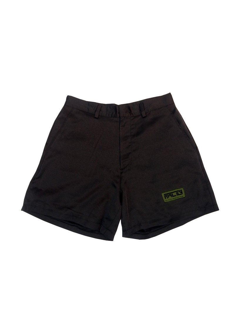2020 SUMMER EMBLOIDERY SHORT PANTS (BLACK)