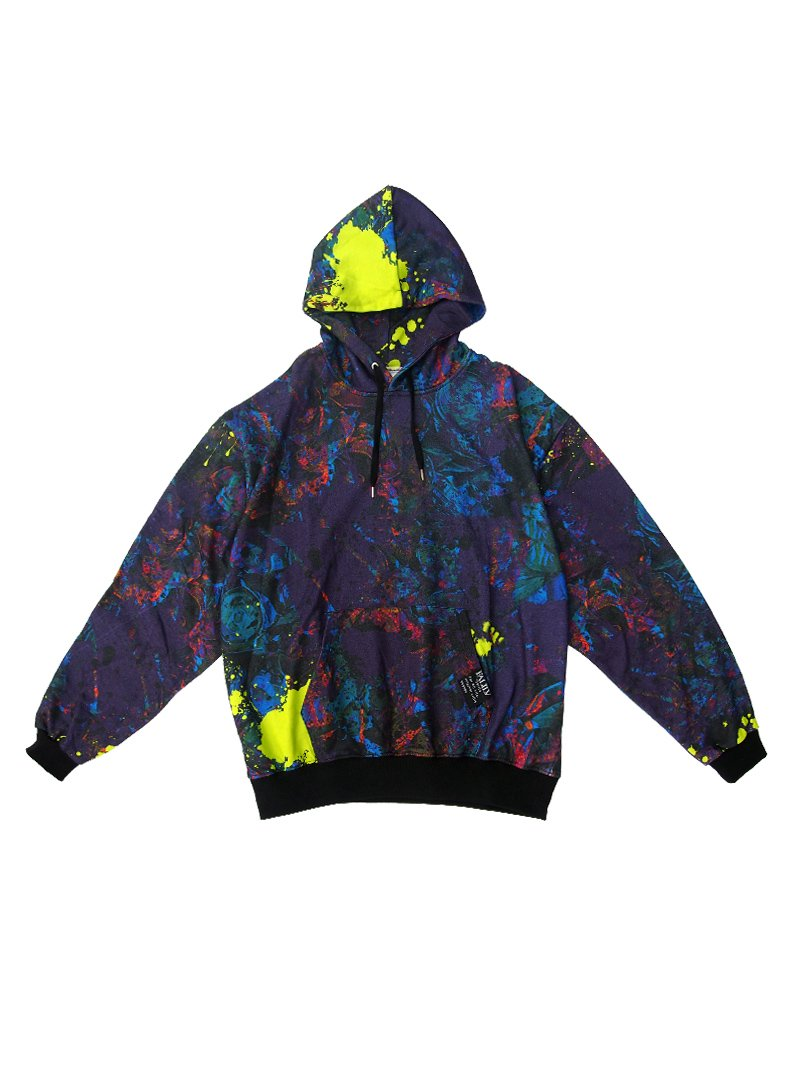 2020 AUTUMN FULL GRAPHIC PULL PARKA (GARBAGE)