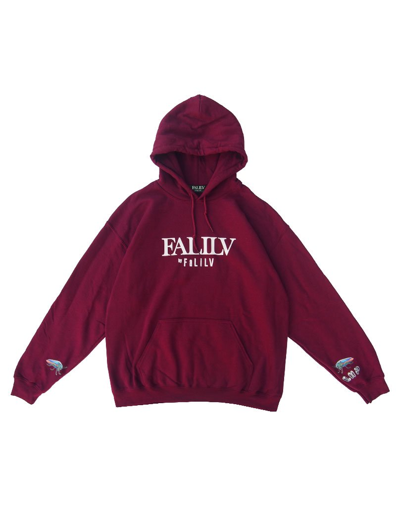 2020 WINTER ×L.H.P Shape of  Trust GRAPHIC PULL PARKA (BURGUNDY)