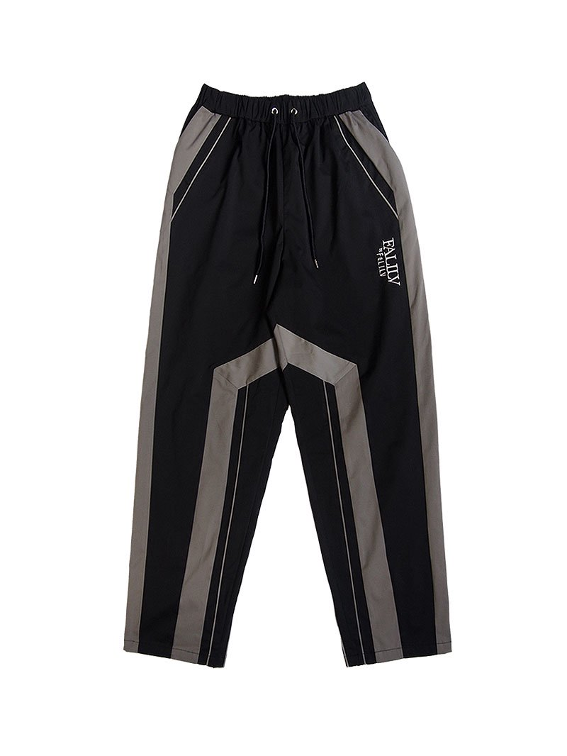 2021 SPRING TAPERED LINE PANTS (BLKGRY)