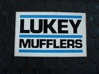 ステッカー LUKEY MUFFLERS