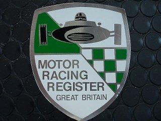 ステッカー MOTOR RACING REGISTER