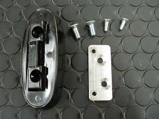 TEXドアミラー用ボルトオン取付アダプター左右セット