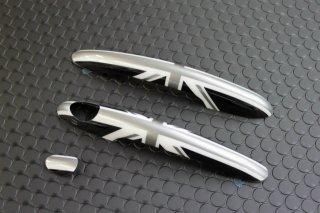 F56 ドアハンドルカバーセット ブラックユニオンジャック