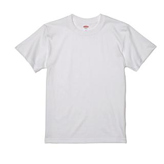 UnitedAthle 5001-01 ハイクオリティ Tシャツ 2箇所(2色)プリント