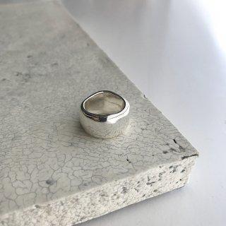 curvy ring † silver