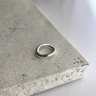wave ring † silver