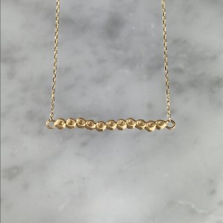 K18YG kotama necklace