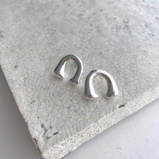 bonheur pierce / earring † silver