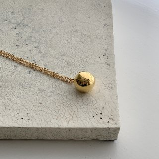 wonky ball necklace † gold●【2/2火21:00予約開始 2月下旬から3月上旬お届予定】