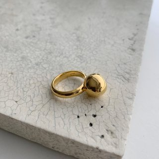 wonky ball ring † gold