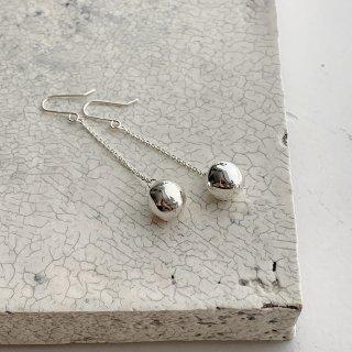 wonky ball † chain pierce  † silver
