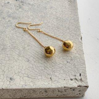 wonky ball † chain pierce  † gold