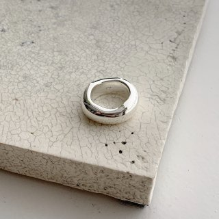 middle ring † silver