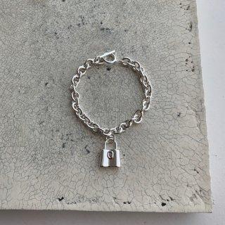 padlock brace † silver