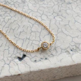 K18YG mini teacup diamond † bracelet