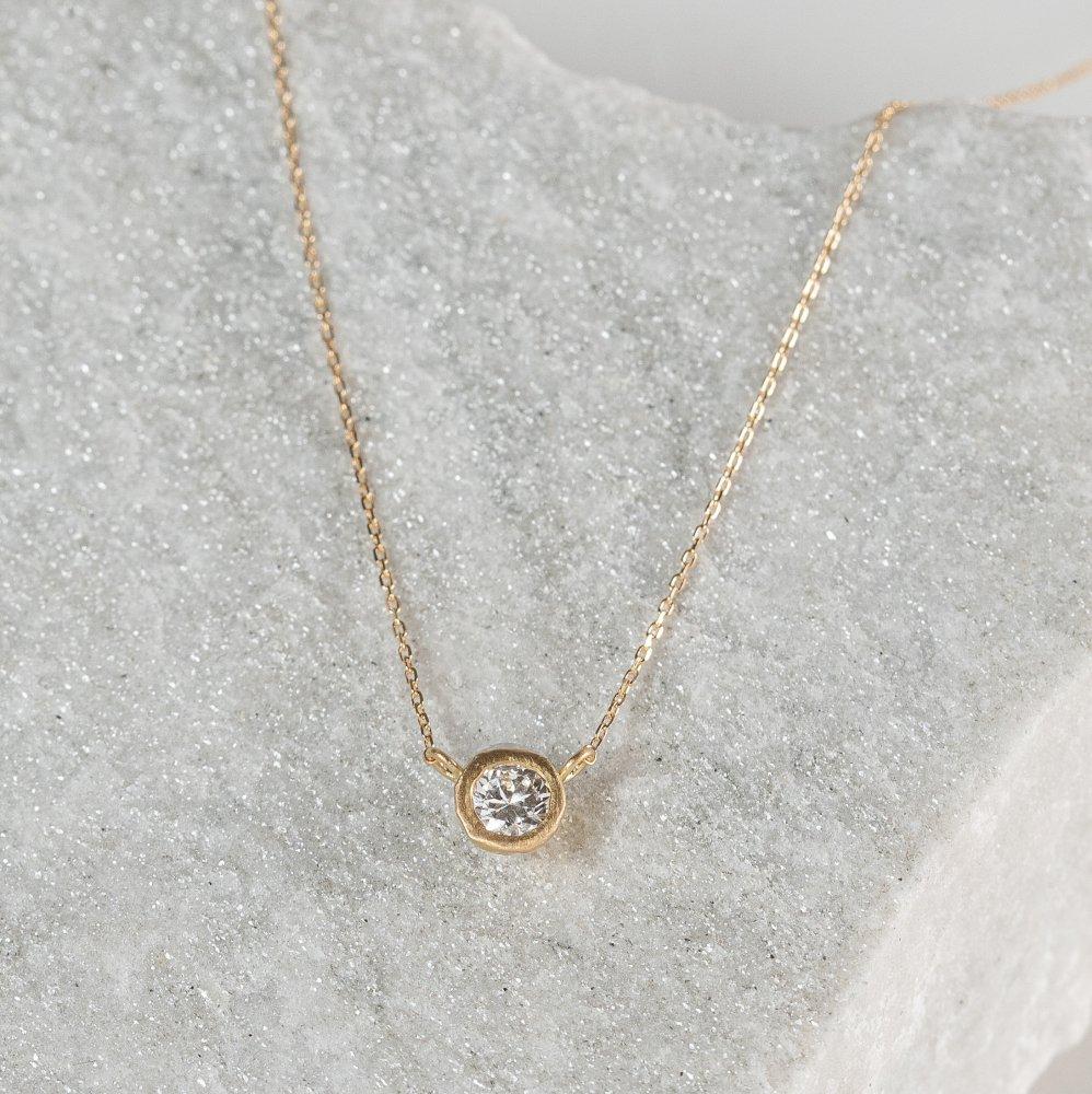 N°25  teacup diamond † necklace