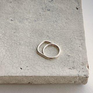 loop ring 1  † silver