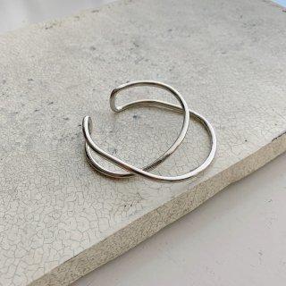loop bangle † silver