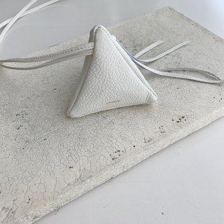 mini triangle † blanc