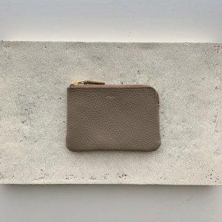 minimun wallet † taupe