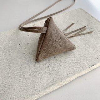 mini triangle † taupe