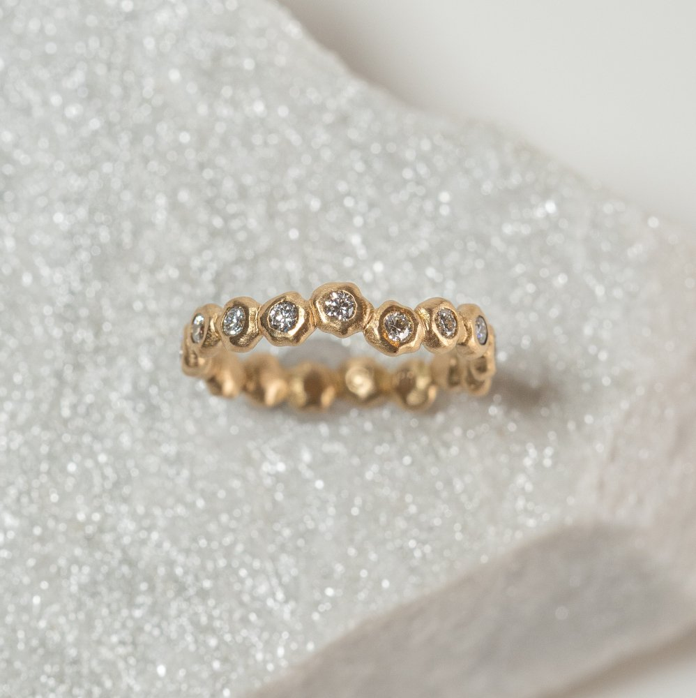 K18YG kotama eternity ring 01