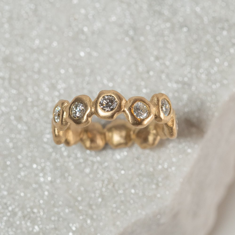 K18YG kotama eternity ring 03
