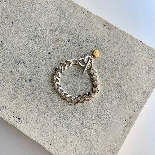 the chain brace † silver
