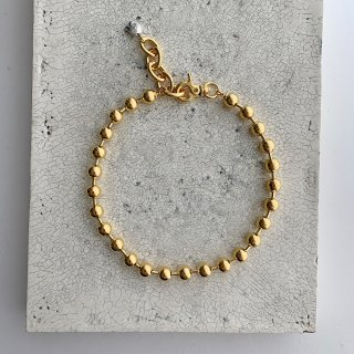 Big ball necklace † gold