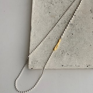 small ball necklace † silver (11/2火21:00販売START即納)
