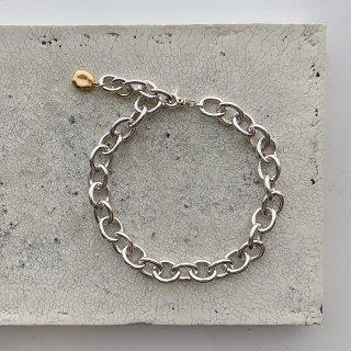 big chain necklace † silver