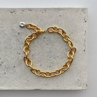 big chain necklace † gold