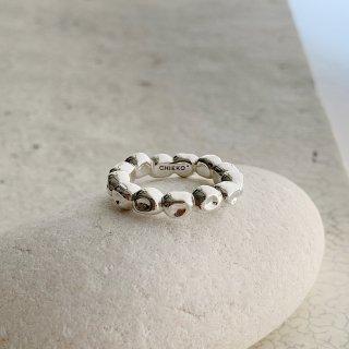 kotama ring in brass † silver